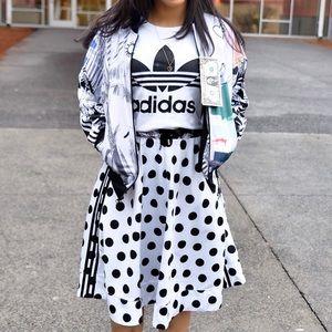 ADIDAS Polka Dot Skirt Set